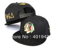 All New Adjustable BBoy Hip-Hop Snapback Black Indian TISA CAP&HAT