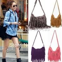 new 2014 Hot sale designers brand Fashion Long Braids tassel bag desigual women messenger bags  Wholesale free shipping B069