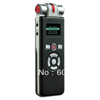 Professional Digital Voice Recorder Dicaphone 8GB Multi-function MP3 Player Speaker with LED T80