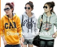 Female money hooded fleece ultra low-cost female hooded fleece