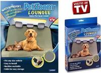 96pcs/lot PetZoom Loungee Auto Pet Seat Cover As Seen On TV Waterproof Seat Belt Slits