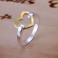 Heart Ring 925 silver ring,high quality ,fashion jewelry, Nickle free,antiallergic jymw qdzb R019