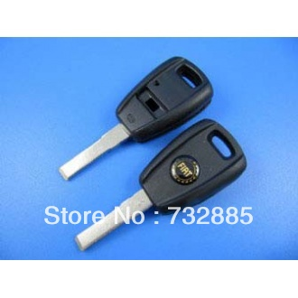 Best quality Fiat remote key shell (black color ) with cheap shipping cost(China (Mainland))