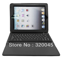 protective case for ipad ipad2 9 color keyboard case For apple ipad4 3 holsteins protective case wireless bluetooth keyboard