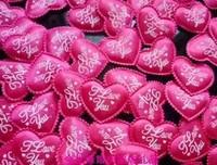 free shipping Love shape throwing flowers wedding decoration 1000pcs/lot many colors wedding decoration