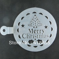 Spray flowers Christmas tree cake tools CAKE Printing printing mould cake spray tools cake Decorating tools