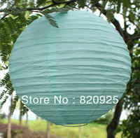 10 X Celeste Blue Chinese Paper Lantern 8'' 20cm Wedding Party Decoration