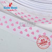 Free shipping  Christmas Wired Ribbon Party Decorations Heart Pattern Christmas Ribbon 200cm/pcs Christmas Decoration 6pcs/Lot