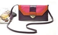 PROMOTION!CHEAP BAG!HIGH QUALITY!FREE SHIPPING!Fashion colorant match hasp handbag envelope bag women messenger bag evening bag