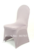 free shipping  dark sliver  spandex/lycra chair cover banquet cheaper spandex chair cover