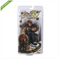 Free Shipping High Quality 21cm Street Fighter IV Round 2 Akuma Authentic PVC Action Figure New In Box
