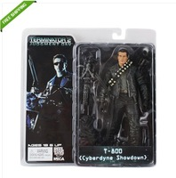 Free Shipping High Quality T2 Terminator 2 Judgment Day T-800 18cm PVC Action Figure Nice Gift