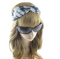 Western Style Hair Accessory  Fashion  Striped Print  Kink  Headwrap For Women