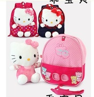 Free Shipping anime cartoon bags gift hello kitty bag hello kitty backpack school bag school bags for girls children backpacks