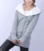Free Shipping New Trench Coat For Women 2013 Hood Winter Coats For Women Down Long Coat Women C760