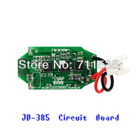 Free Shipping JXD 385 Circuit Board Receiver PCB Box / Main Board Spare Parts For JXD JD-385 4Ch Helicopter With 3D 6 Axis UFO