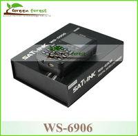 """by fedex Original Satlink WS6906 3.5"""" DVB-S FTA satellite finder ws6906 digital sat finder meter fta"""