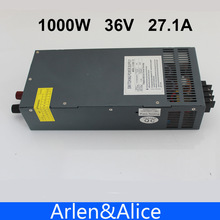 1000W 0 to 36V adjustable 27.1A Single Output Switching power supply AC to DC 110V or 220V(China (Mainland))