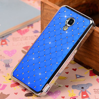 xiaomi mi2a m2a case  luxury diamond hard case for xiaomi 2a mi2a m2a case cover+ free screen protector