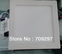 FREE DHL/FEDEX 4pcs/lot 18W 2835 white/warm white LED Panel light AC 85-265V  LED kitchen light  with LED Driver 998080