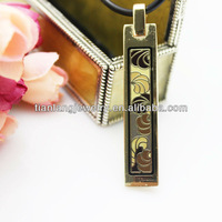 free shipping wholesale angle's wings design enamel jewelry pendant necklace