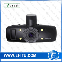 Free shipping 2013 new product 120 degrees ultra wide angle lens 4X digital zoom driver recorder hd car dvr camera