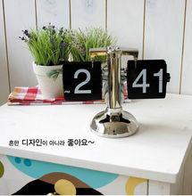 popular metal table clock