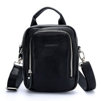 New arrival genuine leather leather bag male mini multifunctional handmade outdoor waist pack