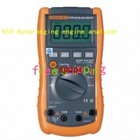 Full overload protection 616 Autoranging engine analyzer free shipping