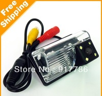 Car Rear View Camera With 4 LED HD CCD Camera for BYD F3/F3R/S6/M6 Corolla EX lifan 620 sedan