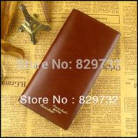 Free shippig 2014 new wallet men's wallet male wallet long design cowhide wallet