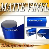 Blue Metallic matt vinyl car wrap/ 3M Air Bubbles/5M/10M/15M/20M/30M