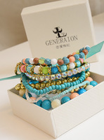 Fall in love bohemia multi-layer handmade beaded bracelet skirt arbitraging fashion accessories