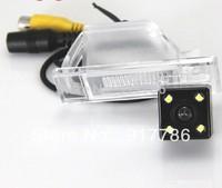 Car Rear View Camera With 4 LED HD CCD Camera for NISSAN QASHQAI Nissan X-TRAIL X TRAIL