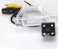 Car Rear View Camera With 4 LED HD CCD Camera for NISSAN QASHQAI Nissan X-TRAIL X TRAIL