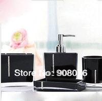 Acrylic Bath Series Bathroom Set  Accessory Eco-friendly Wash Kit Free Shipping Best Selling