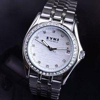 Ikey eyki diamond commercial classic mens watch calendar steel strip fully-automatic mechanical watch male watch