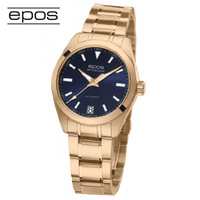 Epos epos gold plated women's automatic mechanical watch 4411.131.24.16 . 34