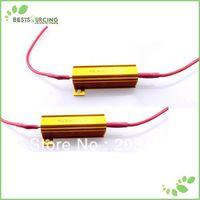 10pairs/lot LED Car TURN SIGNAL Light / FOG Light / RUNNING Light Resistor Car Led Load Resistor (50W 6OHM ) Freeshipping