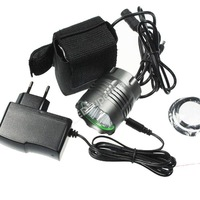 5T6 Bike Light 5xCREE XM-L T6 6000-Lumen 3-Mode LED Bike Light With 6x18650 Battery Pack and charger