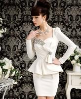 One-piece dress pants midguts summer tight ladies plus size one-piece dress fashion one-piece dress