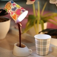 DIY LED Night Lamp Table Home Decoration Romantic Coffee light Usb Or Battery Promotion  Gifts
