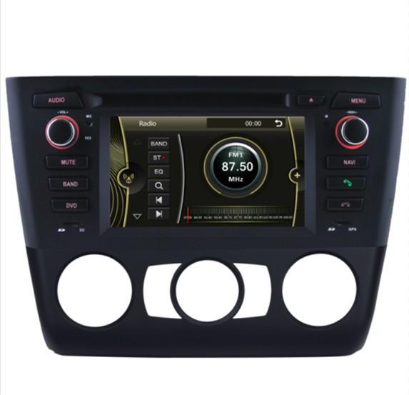 produto 6.2\ special car DVD player fit for BMW 1 Series E81 E82 E87 E88(Manual) with Bluetooth DTV DVB-T Radio IPOD SWC