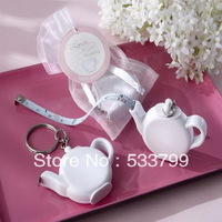 Wedding Party Gift Love is Brewing Teapot Measuring Tape Wedding Favors and Gift+5pcs/lot+FREE SHIPPING