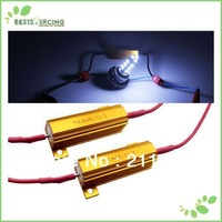 2pcs LED Car Load Resistor 50W 6 Ohm For Car TURN SIGNAL Light / FOG Light / RUNNING Light Resistor
