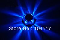 Brand new Motorcycle Bike Round 12V Decorative LED Strobe Flashing Light Lamp Blue Red