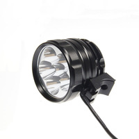 6U2 Bike Lamp 6 x CREE XM-L u2 3 Modes 8000 Lumens LED Bike Light and LED Front Bicycle Light