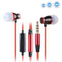 ULDUM  bright color popular high class earphone noise cancelling mobile phone earphone handphone earphone with mic