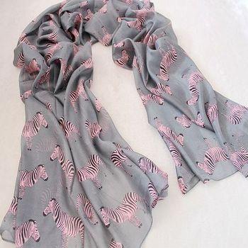 Zebra print ultra large size long silk scarf cape female print thin summer air conditioning sunscreen