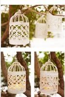 European rural small cage type, wrought iron storm lantern birthday gift, romantic candlelight wedding items